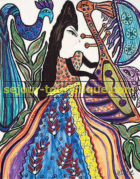 Baya Mahieddine |  Artis Muda Yang Menginspirasi Picasso