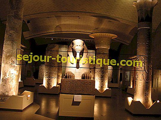 Museum Mesir Kairo Dalam 10 Artefak