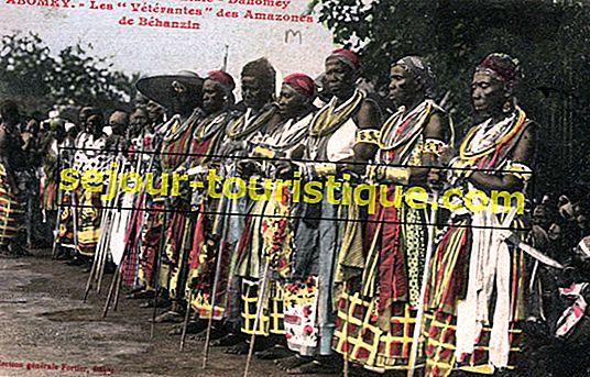 ダホミーアマゾンに会う:西アフリカのすべての女性の戦士