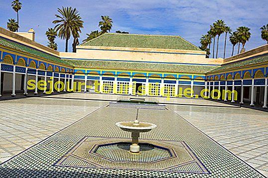 Lịch sử của Cung điện Bahia ở Marrakech trong 1 phút