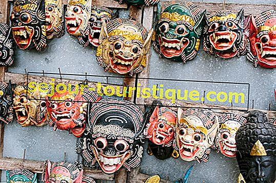 De heilige betekenissen van Balinese maskers