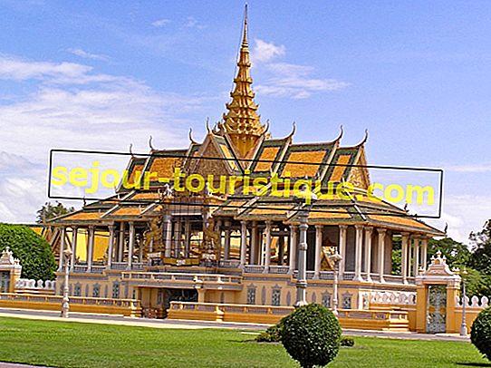 Ein Leitfaden zum Königspalast von Phnom Penh und zur Silberpagode