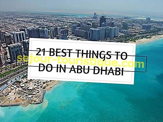 Les meilleures choses à faire à Abu Dhabi