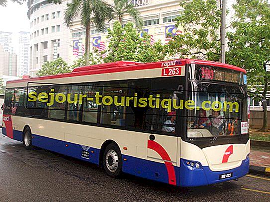 マレーシア、クアラルンプールの公共交通機関利用ガイド