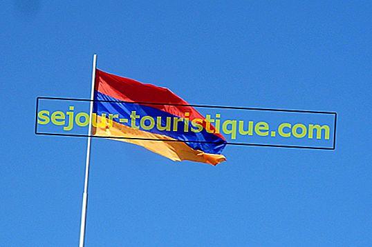 Sơ lược về lịch sử cờ của Armenia