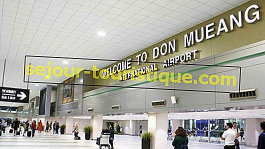 Panduan menuju Bandara Internasional Don Mueang (DMK), Bangkok