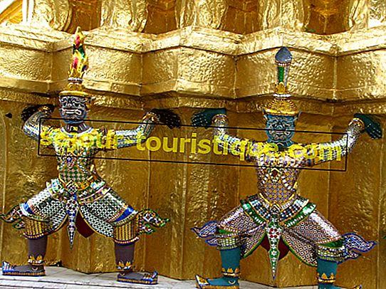 Eine kurze Geschichte von Wat Phra Kaew in Bangkok