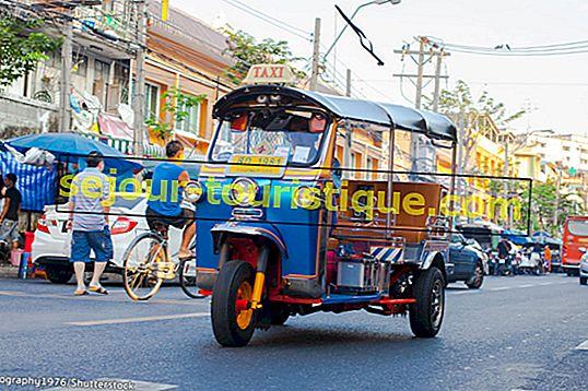 バンコクでトゥクトゥクに乗る方法