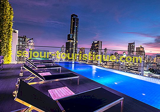 10 Kolam Infinity Terbaik di Bangkok