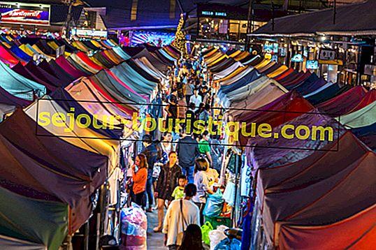 Pasar Malam Terbaik di Bangkok, Thailand