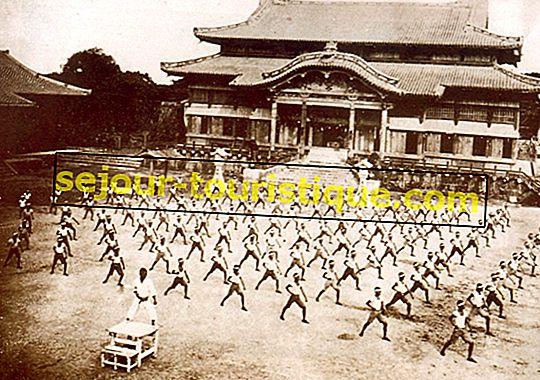 De historische oorsprong van Karate