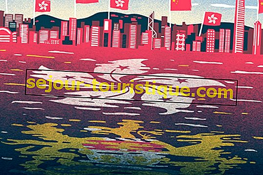 Eine kurze Geschichte der Flagge von Hongkong