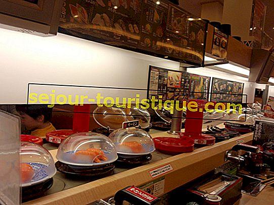 Restoran Sushi Kaiten Terbaik di Tokyo