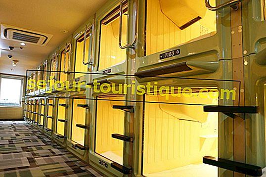 7 สุดยอดโรงแรมแคปซูลในชินจูกุ