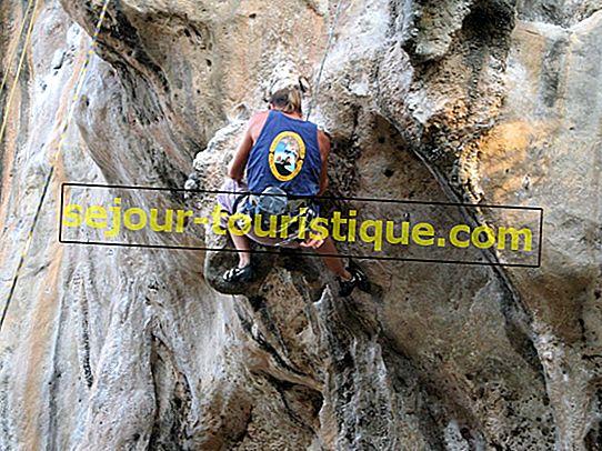 Tempat Terbaik untuk Pergi Panjat Tebing di Thailand