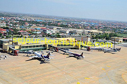คำแนะนำเกี่ยวกับสนามบินนานาชาติพนมเปญ (PNH) ประเทศกัมพูชา