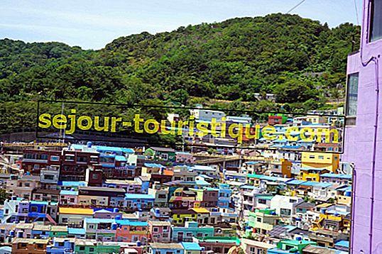 釜山甘川文化村の観光スポット