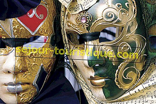 Ein Leitfaden zu den Masken von Venedig