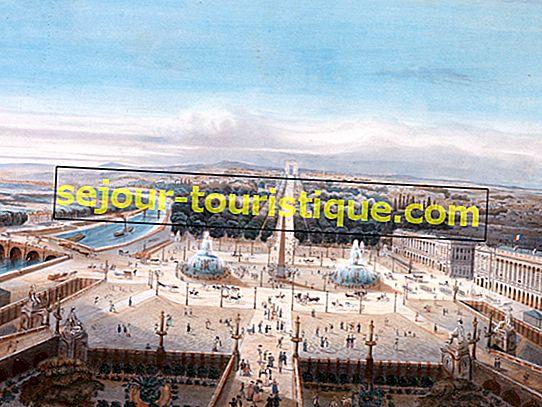 Die Geschichte des Place de la Concorde in 1 Minute