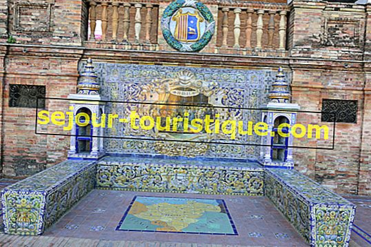 Lịch sử của Plaza De España của Seville trong 1 phút