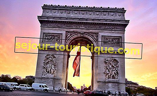 Une brève histoire de l'Arc de Triomphe de Paris