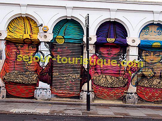 Où trouver le meilleur street art de Londres
