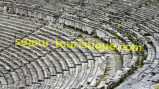Une très brève histoire du théâtre antique d'Épidaure, Grèce