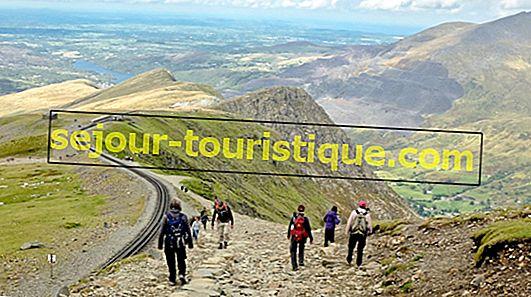 10 con đường mòn đi bộ tốt nhất ở Snowdonia, Wales