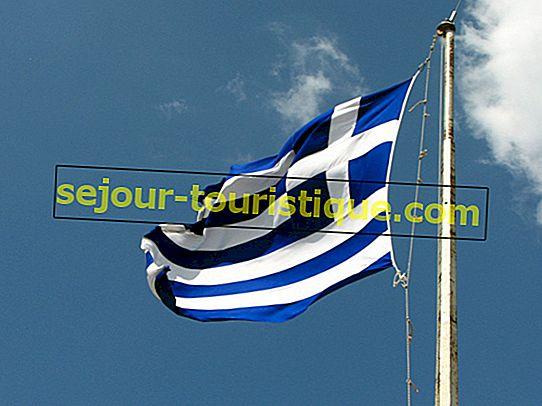 Kisah Dibalik Bendera Yunani