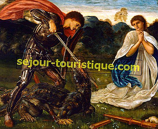 La vraie légende de St George et du dragon