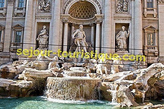 Une brève histoire de la fontaine de Trevi à Rome