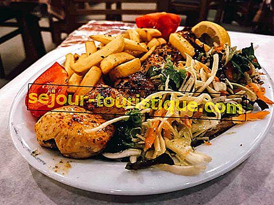 Cuisine grecque expliquée: Souvlaki Vs.  Gyro