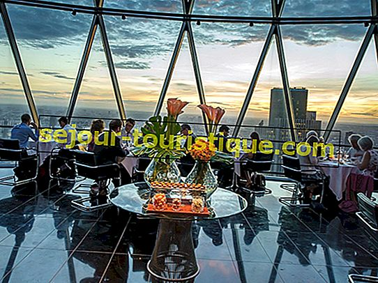 9 Restoran London Terbaik Dengan Pemandangan