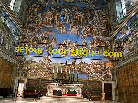 Lukisan Dinding Michelangelo Must-See In The Sistine Chapel