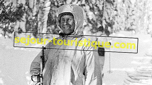 Kisah Simo Häyhä, Kematian Putih Finlandia
