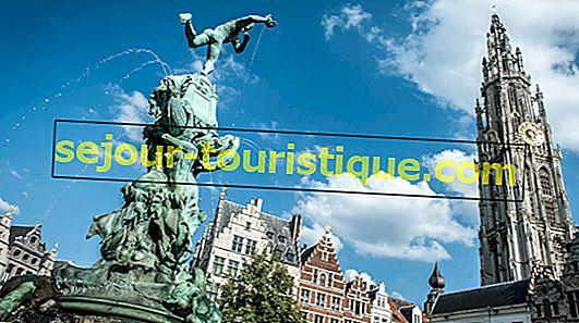 19 điểm tham quan phải đến ở Antwerp
