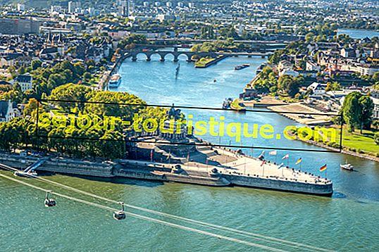 10 สุดยอดสถานที่ท่องเที่ยวและกิจกรรมน่าสนใจในโคเบลนซ์ประเทศเยอรมนี