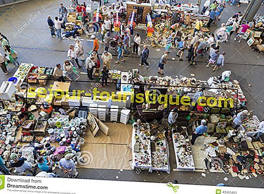7 rommelmarkten en rommelmarkten in Barcelona