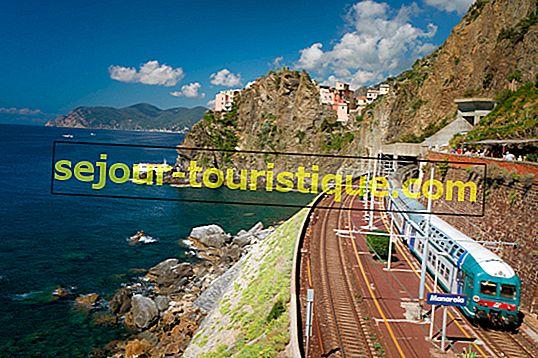 Reizen en reizen door Italië
