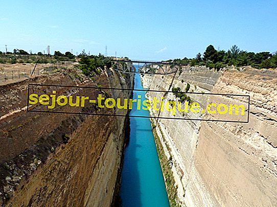 Een korte geschiedenis van het Kanaal van Korinthe