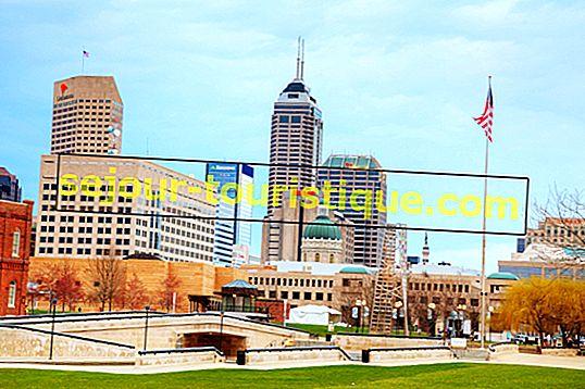 Quelle était la capitale de l'Indiana avant d'être Indianapolis?