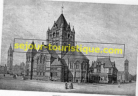 Eine kurze Geschichte der Trinity Church, Boston