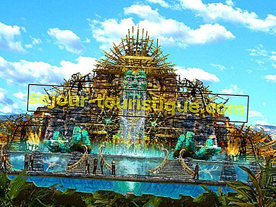 Taman Bertema Terbaik di Meksiko