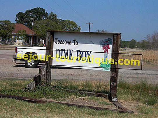 Nama Kota Teraneh di Texas