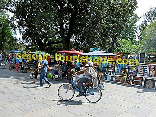 ニューオーリンズのジャクソン広場の簡単な歴史
