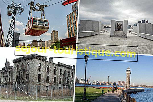 De beste dingen om te zien en te doen op Roosevelt Island, NYC