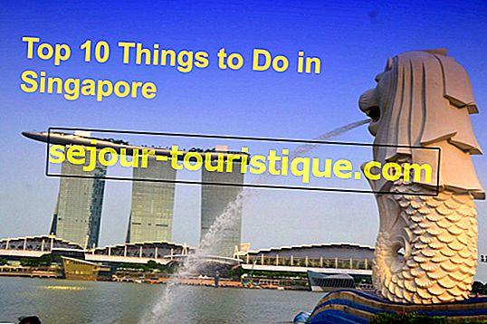 10 Hal Terbaik Untuk Dilakukan di Singapura
