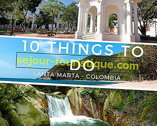 Die Top 10 Dinge zu sehen und zu tun in Santa Marta, Kolumbien